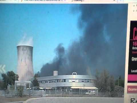 Nuclear Event France (02 July 2011) Tricastin Fire