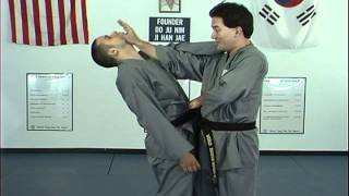 Hapkido Behind Neck Techniques 1 Thru 4, Ji Han Jae