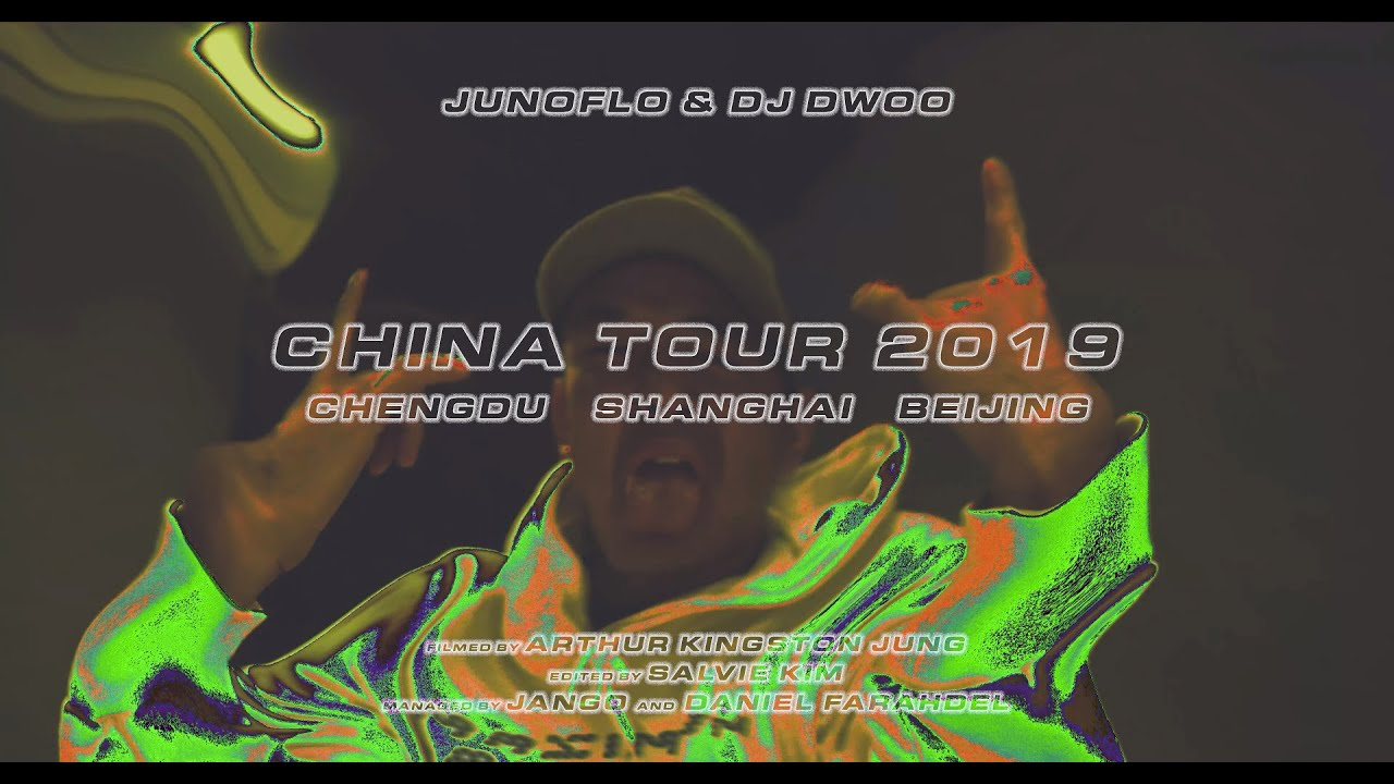Junoflo - CHINA TOUR (vlog)