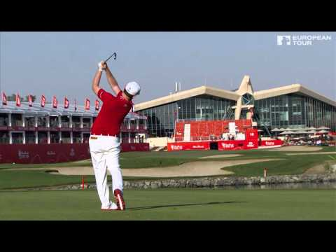 Branden Grace - slow motion golf swing - iron fairway