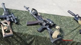 Обзор стрелкового оружия ССО Вооружённых Сил РБ