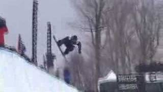 Ross Powers Snowboarding at Stratton Mountain in Vermont