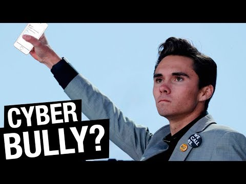 David Hogg is a Cyber Bully?!