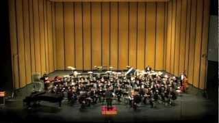 WTAMU Symphonic Band - TMEA 2012 - The Bartered Bride Overture by Bedrich Smetana arr. Gary Garner