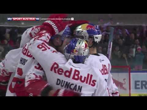 Erste Bank Eishockey Liga 2017/18, Runde 17: EC Red Bull Salzburg - EC VSV 3:5