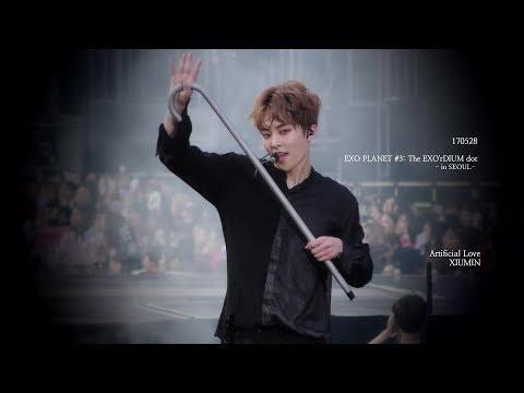 [4K] 170528 EXO'rDIUM Dot Artificial Love XIUMIN 시우민 Focus.