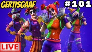 [GIG CLAN] PLAY POTS!!! + CLOWN SKINS IN THE SHOP #101 Livestream Fortnite Battle Royale