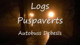 Autobuss Debesis - Logs Puspaverts