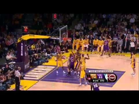 2010 NBA Playoffs Game 5 Conference Finals Phoenix Suns vs Los Angeles Lakers Part 10