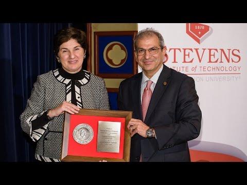 Stevens Institute of Technology: Sharmin Mossavar-Rahmani at the PDLS