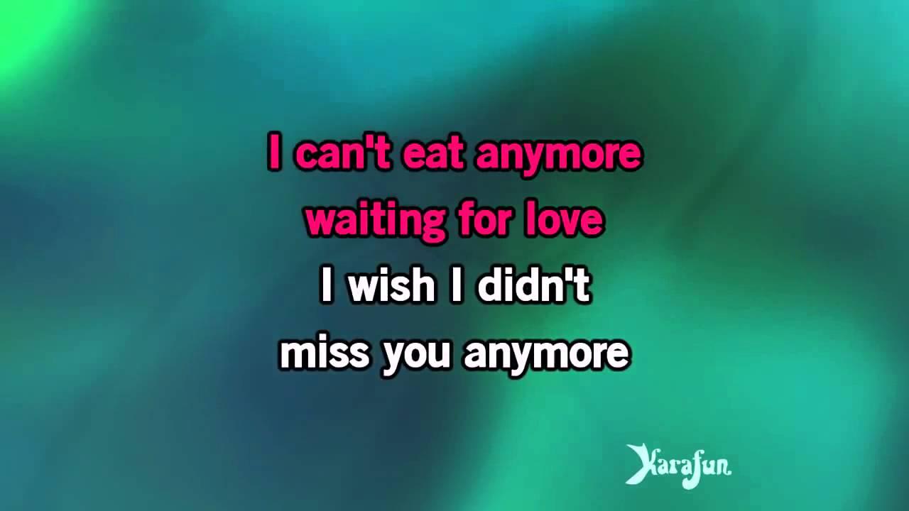 Karaoke Wish I Didnt Miss You Angie Stone Youtube