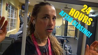 24 Hour Overnight Challenge Inside a Gym After Closing! You Gotta See This!!!