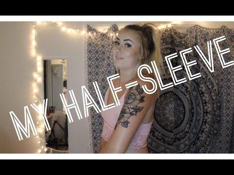 I GOT MY HALF-SLEEVE TATTOO!