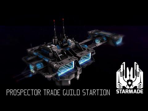 StarMade #213 - Prospector Trade Guild Station