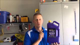 Save Money by using Royal Purple engine oil