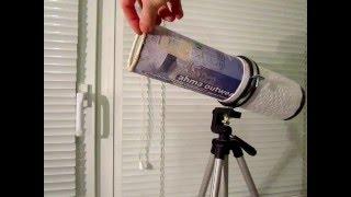 видео Как сделать телескоп своими руками
