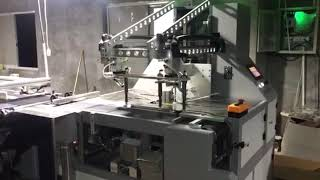 Single Station Semi Automatic Boutique Box Forming Machine