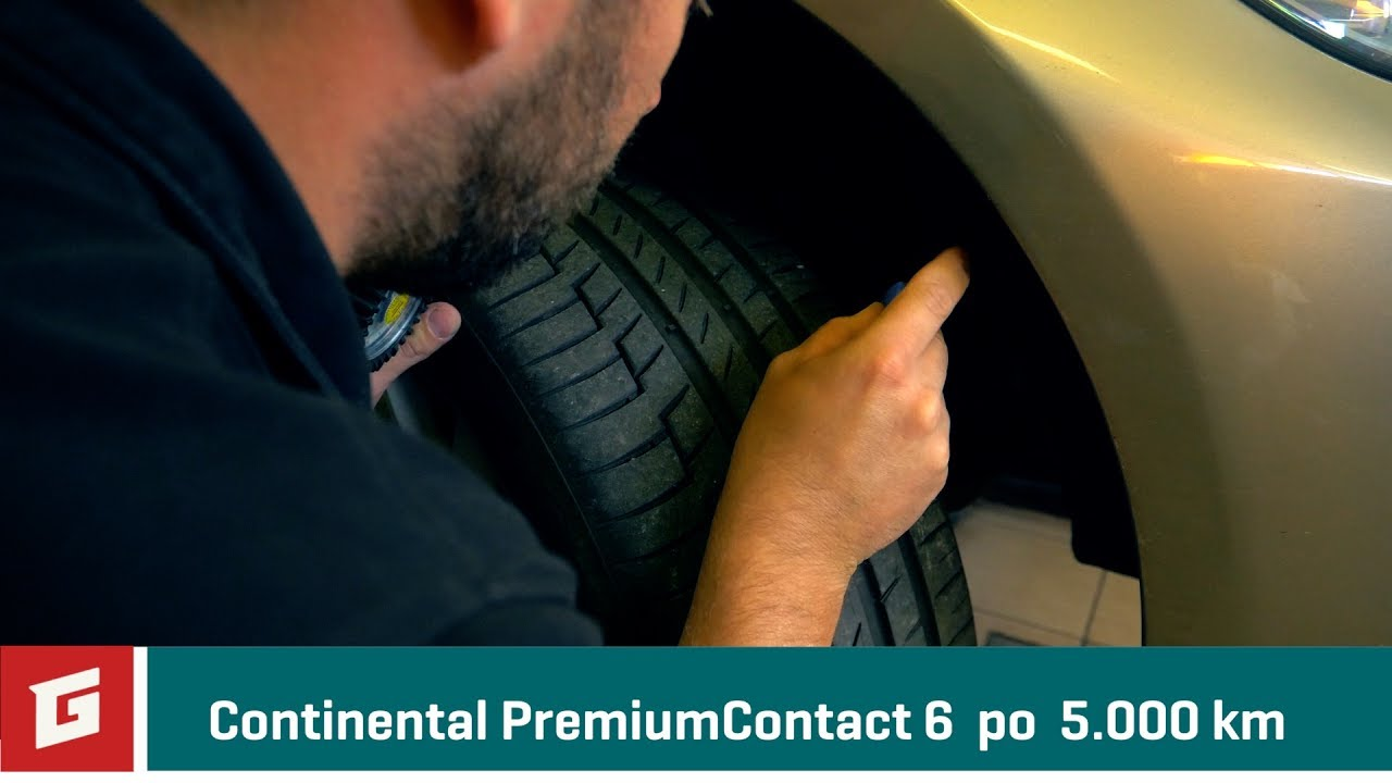 Test Continental PremiumContact 6 po 5.000 km - GARÁŽ.TV - YouTube