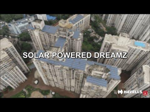 Havells Solar project in Mumbai.