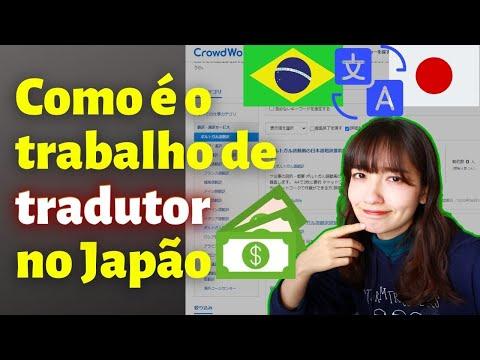 Que tipo de trabalho de tradução tem no Japão? [tradutor japonês]