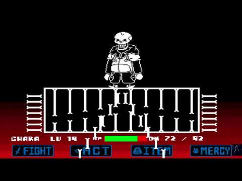 Underswap Papyrus and the end of the genocidal route (Unitale)