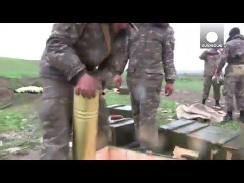 Armenian-backed Soldiers Fire Shells At Azerbaijani Positions, Nagorno-Karabakh