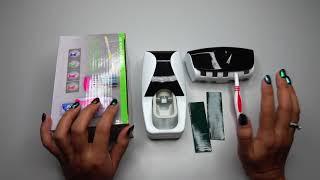 Gantungan 1 Set Rak Sikat Gigi Dispenser Odol - HLA0146