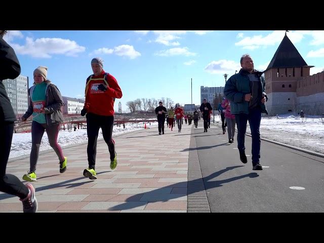 20 марта, легкоатлетический забег