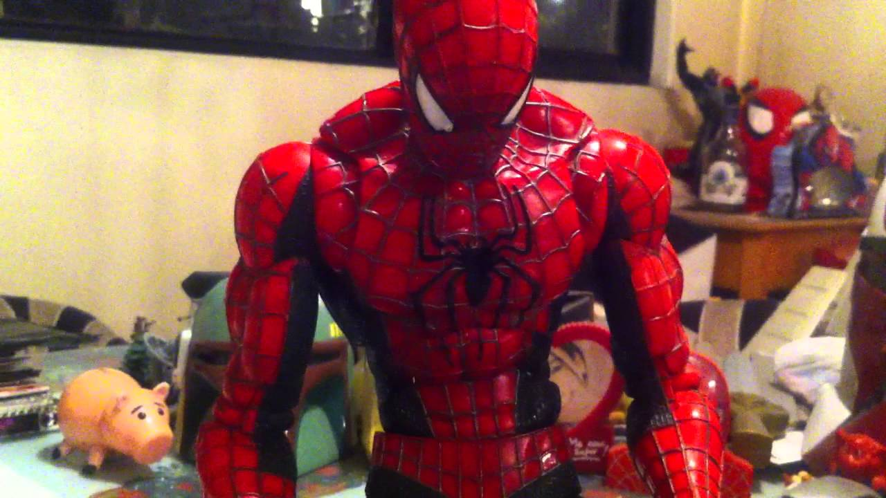 18 Inch Spider Man 2 Toy : Toy biz quot amazing spider man hd review youtube