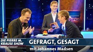"""""""Gefragt, gesagt"""" mit Johannes Madsen"""