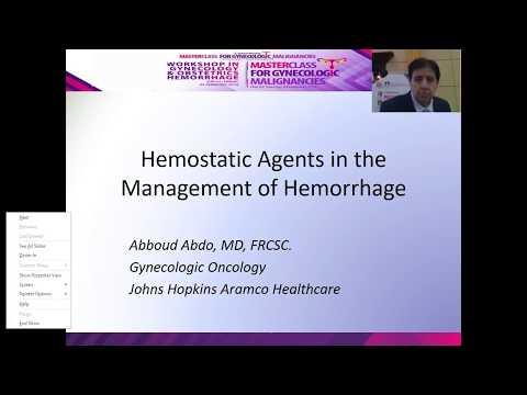Hemostatic Agent in the Management of hemorrhage
