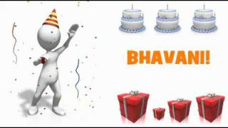 HAPPY BIRTHDAY BHAVANI!
