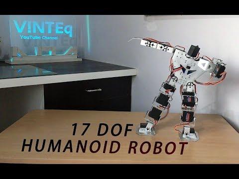 17 DOF HUMANOID ROBOT (Mark 2) (MK 2)