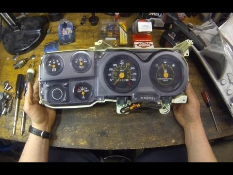 86 chevy silverado wiring diagram four prong trailer how to c10 gauge cluster circuit board replacement - truck square body   make & do ...