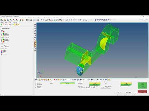 HM-3220: Creating a Hexahedral Mesh using the Solid Map Function