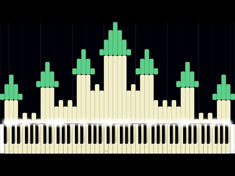 Hyrule Castle - The Legend of Zelda: Breath of the Wild [Piano Tutorial] (Synthesia) // AqareCover thumbnail