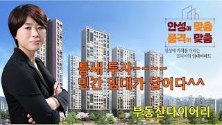 안성공도 센트럴카운티 민간임대 아파트 청약