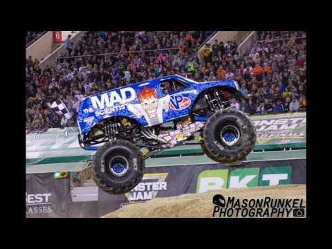 Monster Jam Indianapolis, IN show #2 2017 Line up