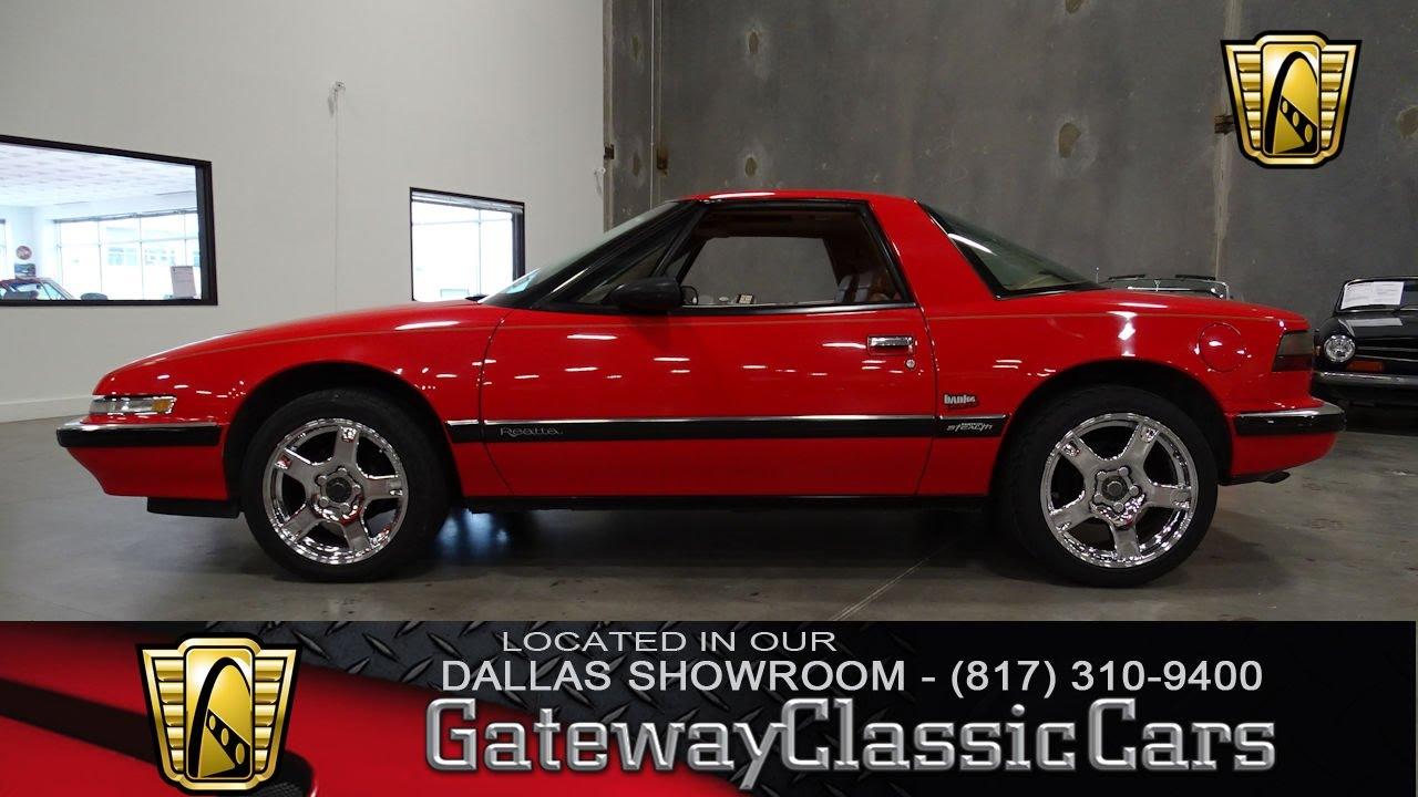 1990 buick reatta 390 dfw gateway classic cars of dallas youtube. Black Bedroom Furniture Sets. Home Design Ideas