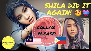 REACTION VIDEO OF A FILIPINA TO SHILA AMZAH OF MALAYSIA| A FAN'S POV😜