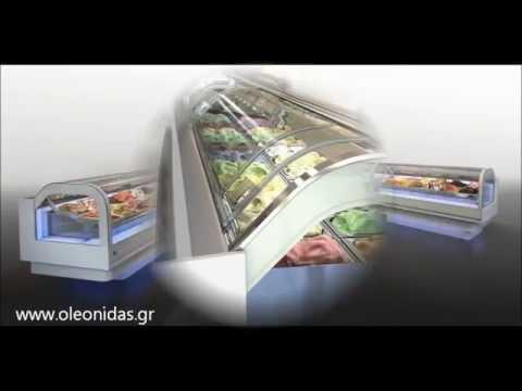 Ψυγείο βιτρίνα Ζαχαροπλαστικής Cloud - Display Refrigeration Cases and Pozzetti Pastry CLOUD IFI.