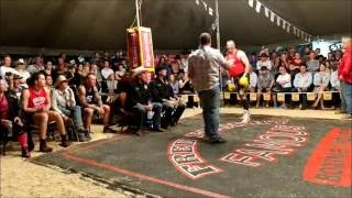 Darryl Burley fights 2 brothers - Outback Fight Club - Mt Isa 2016