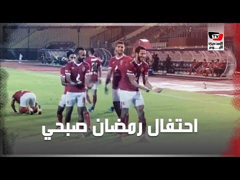 رمضان صبحي يحتفل بقدوم مولوده على طريقته الخاصة فى مواجهة الإنتاج الحربى  - 22:53-2019 / 10 / 2