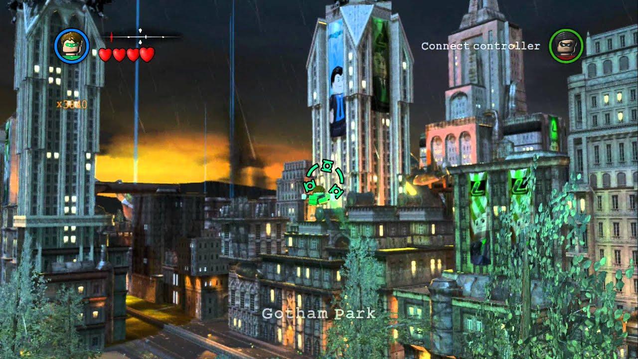 Lego batman 2 dc super heroes unlocking all vehicles in gotham city