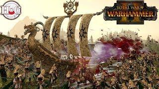 Wulfrik's One Man Navy - Total War Warhammer 2 - Online Battle 171