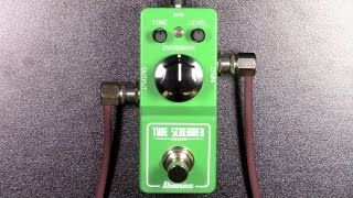 Ibanez Tube Screamer Mini Review - BestGuitarEffects.com