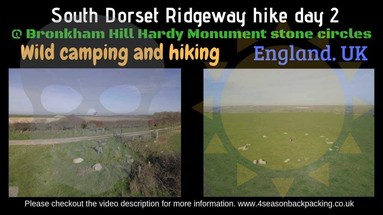 South Dorset Rideway hike and wild camping Day 2 - YouTube