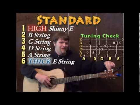 Tuning the Guitar - Standard, Drop D, Double D, DADGAD, and Drop Tuning EbBbGbDbAbEb