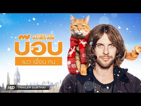 "A Street Cat Named Bob ""บ๊อบ แมว เพื่อน คน"" (Trailer Sub Thai)"