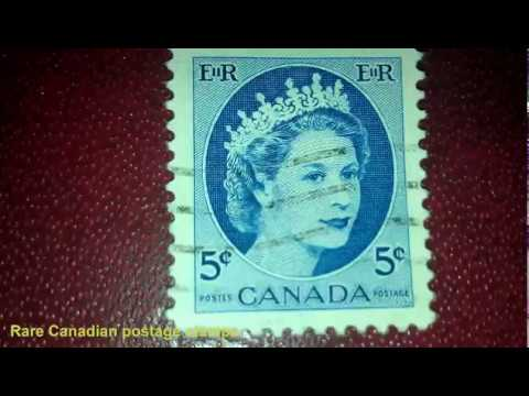 Rare Canadian Postage Stamps